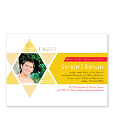 Simon Bar Mitzvah Invitations