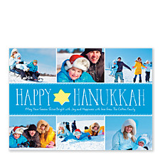 Rock of Ages Hanukkah Photo Cards