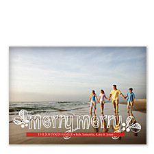 Merry Merry Photo Holiday Cards