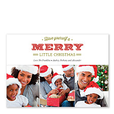 Merry Photo Holiday Cards