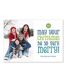 So Very Merry Holiday Photo Cards