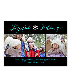 Joyful Tidings Christmas Photo Cards