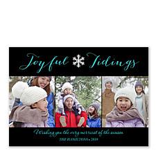 Joyful Tidings Christmas Photo Cards