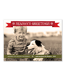 Holiday Blessings Holiday Photo Cards