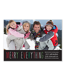 Merry Everything Holiday Photo Cards