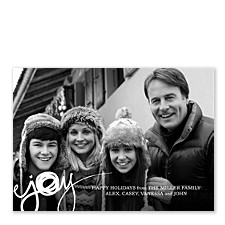 Joy Photo Holiday Cards
