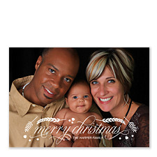 Joyous Day Photo Christmas Cards