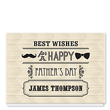 Old Tyme Dad Father's Day Cards