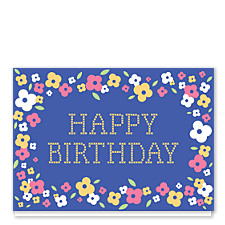 Needlepoint Birthday Birthday Cards