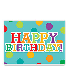 Birthday Polka Dot Birthday Cards
