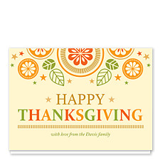 Folk Art Thanksgiving Thanksgiving Cards