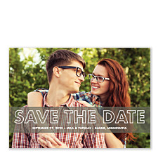 Head Over Heels Save the Date Cards