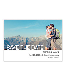 Amore Save the Date Photo Cards