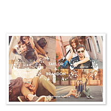 Four Corners Save the Date Photo Cards