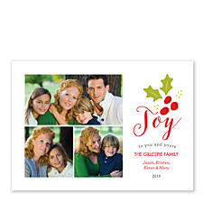 Joy Berry Photo Christmas Cards