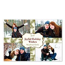 Joyful Holiday Wishes Photo Cards