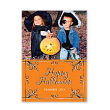 Eerie Halloween Photo Cards