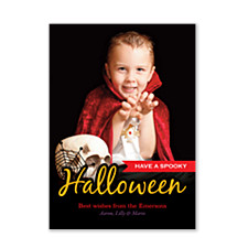 Have a Spooky Halloween Photo Cards