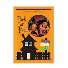 Fear Factor Halloween Photo Invitation Cards