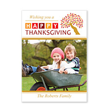 Happy Thanksgiving Thanksgiving Photo Cards