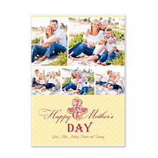 Elegant Flowers Mother's Day Cards