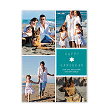 Sweet Light Hanukkah Photo Cards