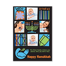 Wishing you Happiness Hanukkah Cards