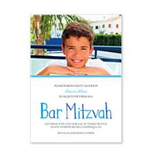 Isaac Photo Bar Mitzvah Invitations