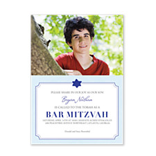 Share Our Joy Bar Mitzvah Invitations