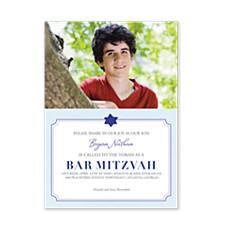Share Our Joy Bar Mitzvah Invitations