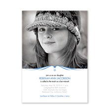 Rebekah Photo Bat Mitzvah Invitations