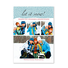 Let it Snow! Photo Holiday Cards