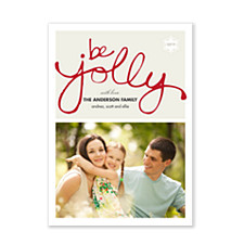 Jolly Photo Christmas Cards