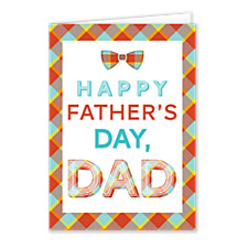 Super Plaid Dad Father's Day Cards