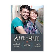 Folk Love Save the Date Photo Cards