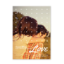 Love Filled Photo Holiday Cards