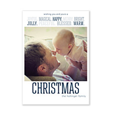 Joyful Christmas Photo Christmas Cards