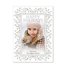 Laurel Frame Holiday Photo Cards