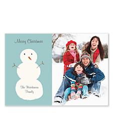 HOHOHO Snowman Photo Cards
