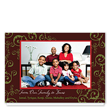 Cherished Memories Christmas Photo Cards