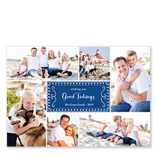 Good Tidings Collage Holiday Photo Cards