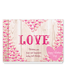 Heart Full of Love Valentines Day Cards