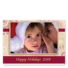 Pinwheels Holiday Photo Cards
