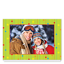 Free Style Photo Holiday Cards