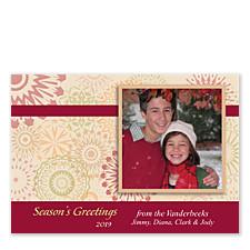 Kaleidoscope Photo Christmas Cards