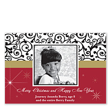 Holiday Lace Holiday Photo Cards