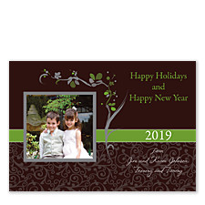 Asian Espresso Photo Christmas Cards