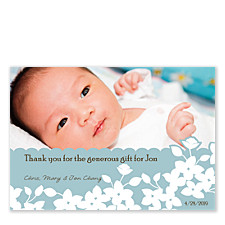 Wedgewood Photo Thank You Cards