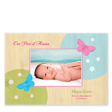 Alluring Photo Birth Announcement Cards