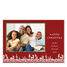 Woodland Holiday Photo Cards